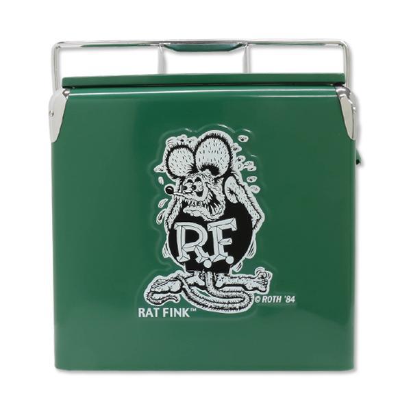 【MOON EYES】Rat Fink RF Cooler Box 老鼠芬克 復古行動冰桶  Webike摩托百貨