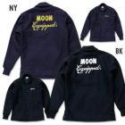 【MOON EYES】MOONEYES MOON Equipped Car Club Jacket 羊毛聚酯夾克 黑色| Webike摩托百貨