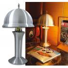 "【MOON EYES】MOONEYES ""FAR-OUT""TABLE LAMP0髮絲光盤鐘罩檯燈| Webike摩托百貨"