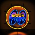 【MOON EYES】MOONEYES 經典LOGO 霓虹燈| Webike摩托百貨