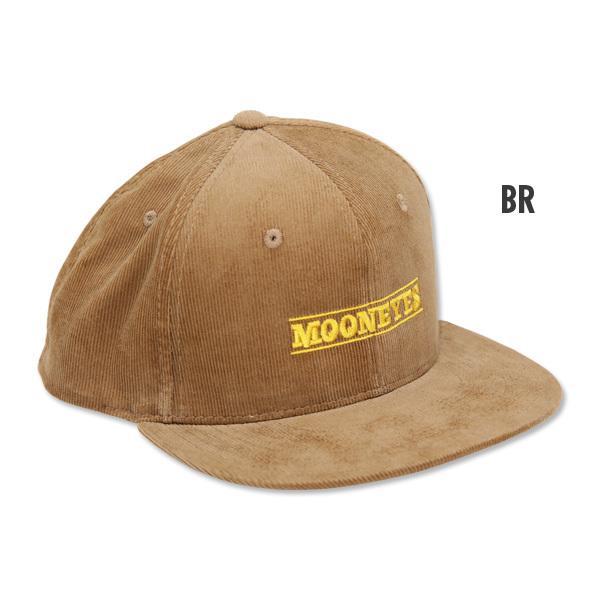 【MOON EYES】MOONEYES 燈芯絨材質 棒球帽| Webike摩托百貨
