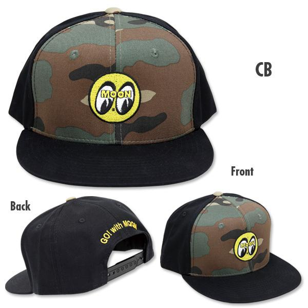 【MOON EYES】MOONEYES GO!WITH MQQN 遮陽帽| Webike摩托百貨