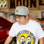 【MOON EYES】Eyeball Flat Visor Cap MOONEYES 棒球帽 遮陽帽| Webike摩托百貨