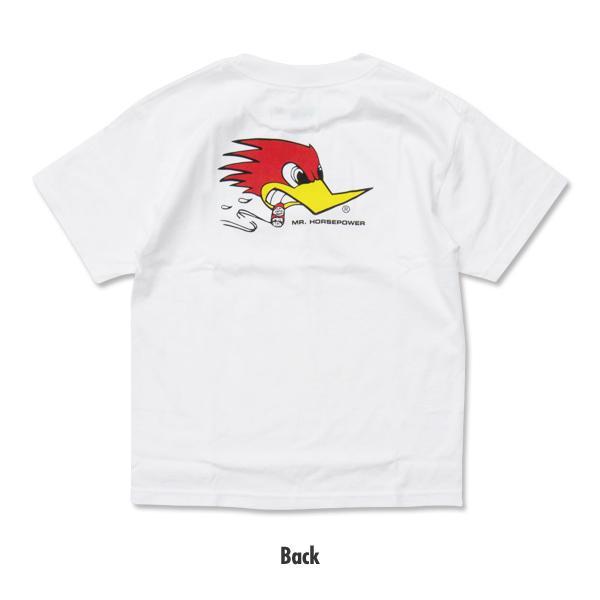 【MOON EYES】CLAY SMITH 經典 叼菸鷹 嬰孩童短袖上衣 紅色  Webike摩托百貨