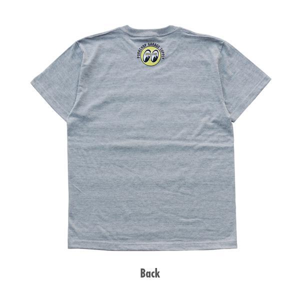 【MOON EYES】PORKCHOP × MOONEYES 聯名設計款 短袖上衣 短T 白色  Webike摩托百貨