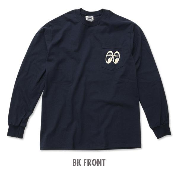 【MOON EYES】MOON Equipped MOONEYES 經典LOGO長袖上衣 黑色  Webike摩托百貨