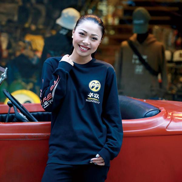 【MOON EYES】MOONEYES Honmoku Midnight 美式風格 長袖上衣  Webike摩托百貨