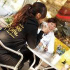 【MOON EYES】MOONEYES連帽外套SM582 MOON CAFE系列 黑色  Webike摩托百貨