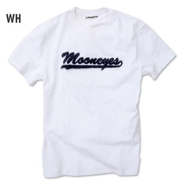 【MOON EYES】MOONEYES LOGO立體製成 短袖上衣 藍色| Webike摩托百貨