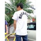 【MOON EYES】MOONEYES LOGO立體絨布材質製成 短袖上衣 黑色  Webike摩托百貨