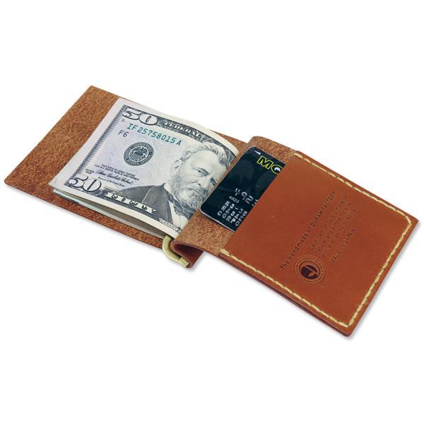 【MOON EYES】MOONEYES Money Clip with Pocket 皮革掌上鈔票夾  Webike摩托百貨