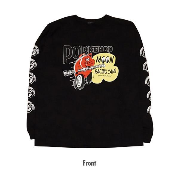【MOON EYES】PORKCHOP × MOONEYES 聯名設計款 長袖上衣| Webike摩托百貨