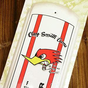 【MOON EYES】CLAY SMITH Thermometer叼菸鷹 壁掛溫度計| Webike摩托百貨