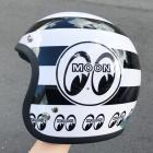 【MOON EYES】MOONEYES 4/3安全帽  Webike摩托百貨