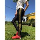 【MOON EYES】MOONEYES Leggings Checker 運動褲  Webike摩托百貨