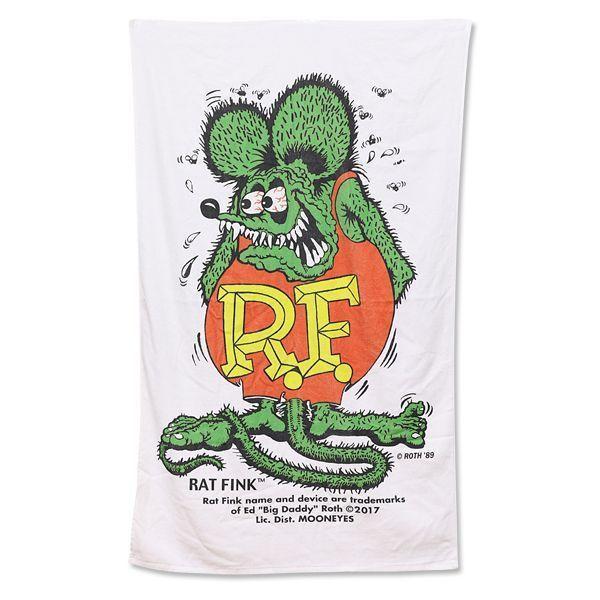 【MOON EYES】RAT FINK RF 老鼠芬克 大浴巾| Webike摩托百貨
