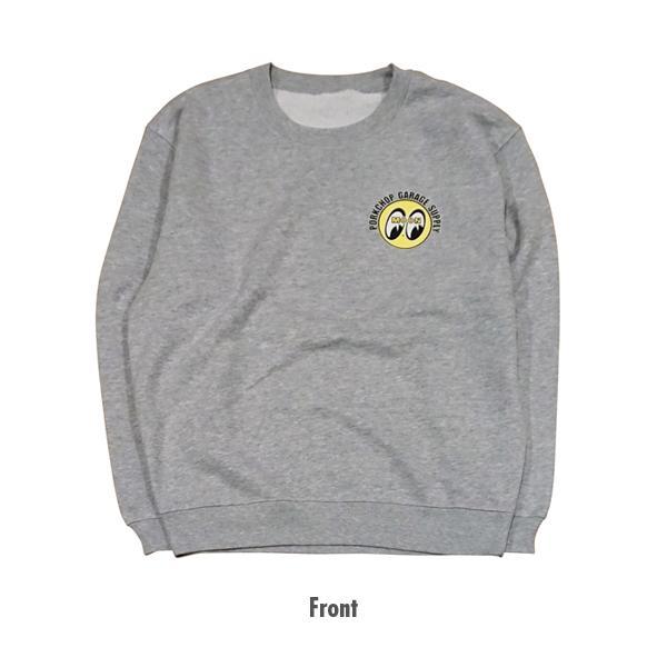 【MOON EYES】PORKCHOP × MOONEYES 聯名設計款 長袖上衣 大學T| Webike摩托百貨
