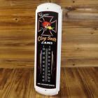 【MOON EYES】CLAY SMITH Thermometer叼菸鷹 美式拉線風格溫度計  Webike摩托百貨