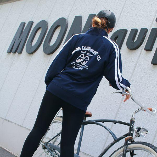 【MOON EYES】MOONEYES Speed Shop Poly Tech Jacket 運動外套 休閒外套 藍色  Webike摩托百貨