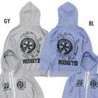 【MOON EYES】MOONEYES x Road Runner 嗶嗶鳥 連帽外套 灰色  Webike摩托百貨