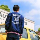 【MOON EYES】MOONEYES Stadium Jacket 棒球外套 藍色| Webike摩托百貨