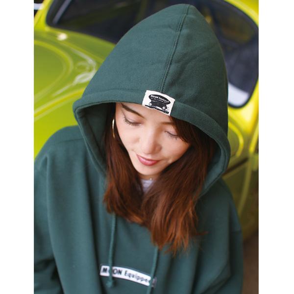【MOON EYES】MOONEYES MOON Equipped 連帽長袖上衣 紅色  Webike摩托百貨