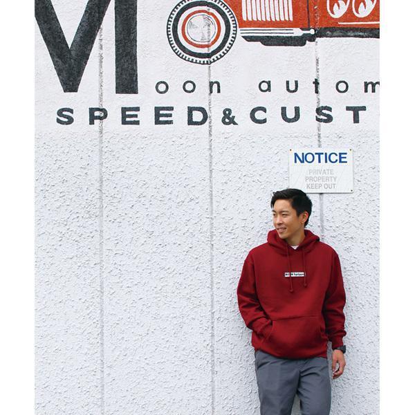 【MOON EYES】MOONEYES MOON Equipped 連帽長袖上衣 棕色  Webike摩托百貨