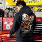 【MOON EYES】MOONEYES MOON Equipped Speed Shop 連帽外套| Webike摩托百貨
