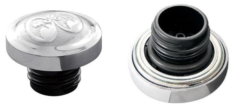【MOON EYES】MOONEYES Sportster 鋁合金鑄造油箱蓋 XL 1200 48 883| Webike摩托百貨