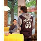 【MOON EYES】MOONEYES MOON Equipped LOGO 連帽外套 藍色  Webike摩托百貨
