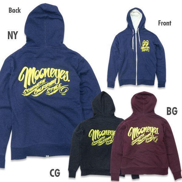 【MOON EYES】MOONEYES Boa Zip Parka 南加州風格 連帽刷毛外套 藍色  Webike摩托百貨