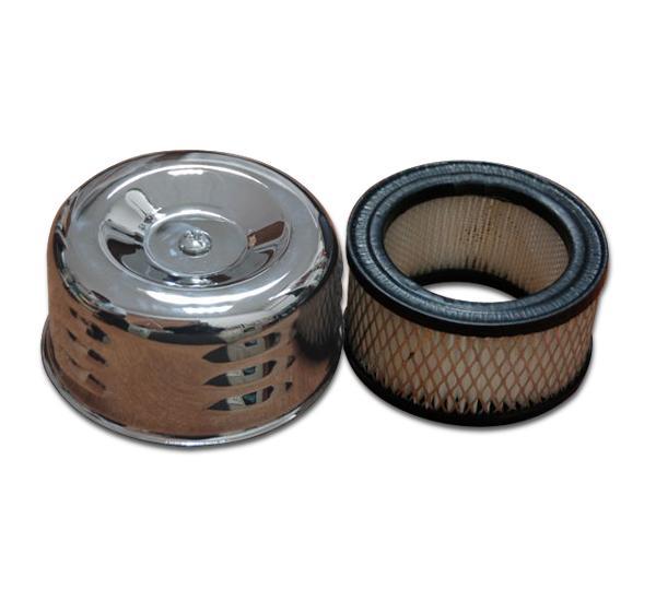 【MOON EYES】MOONEYES Chromed Air Cleaners Cover & Filter哈雷空濾套件| Webike摩托百貨