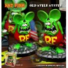 【MOON EYES】RAT FINK RF老鼠芬克OLD STYLE STATUE公仔  Webike摩托百貨