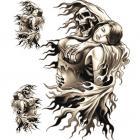 【LETHAL THREAT】Reaper Girl 貼紙組