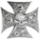 "【LETHAL THREAT】【Lethal Threat Emblem ""Cross""】裝飾徽章| Webike摩托百貨"