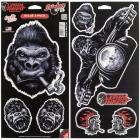 【LETHAL THREAT】【Lethal Threat Gorilla Series Decals】車身裝飾貼紙  Webike摩托百貨