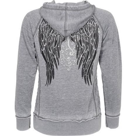 【LETHAL THREAT】【Lethal Threat Lethal Angel Immortal Crossbones Ladies】連帽上衣| Webike摩托百貨