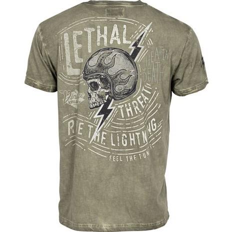 【LETHAL THREAT】【Lethal Threat The Lightning T-Shirt】T恤| Webike摩托百貨