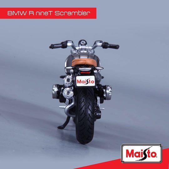 【Maisto】【Maisto Model BMW R Nine T Scrambler 1:12】摩托車模型| Webike摩托百貨