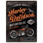 【HARLEY-DAVIDSON】【Harley Davidson Retro Metal Sign *Timeless*】 金屬牌  Webike摩托百貨