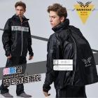 【寶嘉尼】領航者背開外套雨衣 黑色