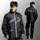 【fairrain】新幹線時尚風雨衣 (冰銳黑)| Webike摩托百貨
