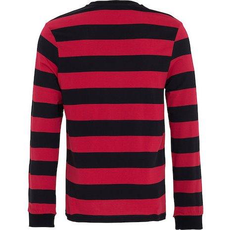 【King Kerosin】【King Kerosin *Strip* Longsleeve Shirt】長袖T恤| Webike摩托百貨