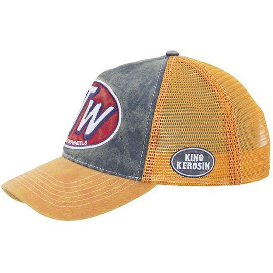 【King Kerosin】【King Kerosin Cap FTW Vintage Orange】 卡車司機帽    Webike摩托百貨