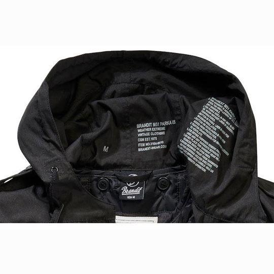 【BRANDIT】【Brandit M51 Parka】派克大衣外套| Webike摩托百貨