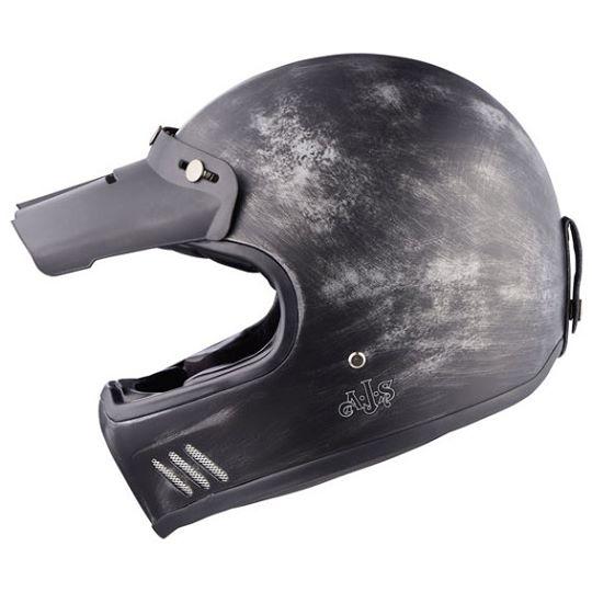 【AJS】【AJS Vintage II Helmet Peak 】帽舌| Webike摩托百貨