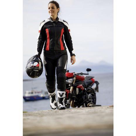 【Büse】【Büse (Buese) Vermont Leather Combi Suit】女用摩托車皮衣外套  Webike摩托百貨