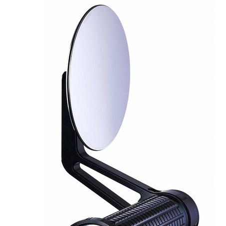 【motogadget】【Motogadget m.view Cafe Glassless Mirror 】無鏡片式握把尾端後照鏡(左右通用)| Webike摩托百貨
