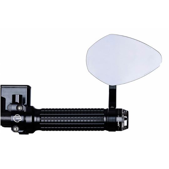 【motogadget】【Motogadget m.view Flight Glassless Mirror 】無鏡片式握把尾端後照鏡(左右通用)| Webike摩托百貨