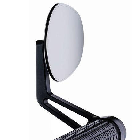 【motogadget】【Motogadget m.view Road Glassless Mirror 】無鏡片式握把尾端後照鏡(左右通用)  Webike摩托百貨